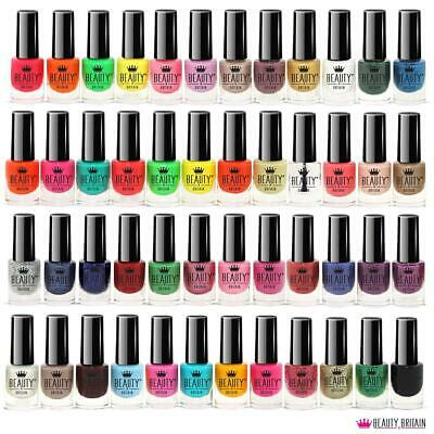 48 X Nail Polish Varnish Set Different Bright Modern Colours Uk