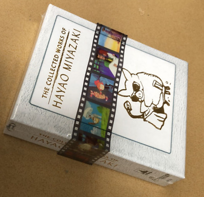 The Collected Works of Hayao Miyazaki Blu-ray Box Set Complete Sealed New US