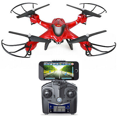 Holy Stone HS200 Drohne mit 720P Kamera HD RC Quadrocopter Drone in ROT