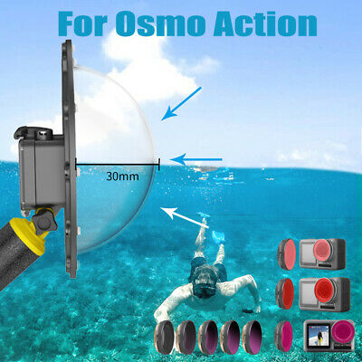For DJI Osmo Action Underwater Diving Set Tool lens Dome