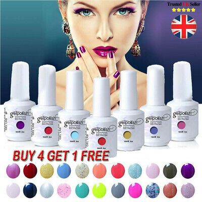 GEL LAB Gel Nail Polish Varnish Lacquer Base Top Coat Manicure Gelpolish 15ml #
