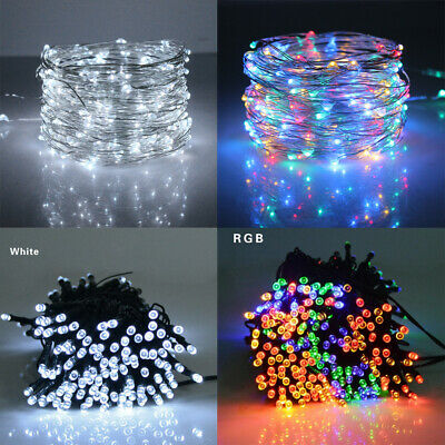 Fashion Fairy String Light Battery Solar Raindrop Shaped Christmas Wedding Party
