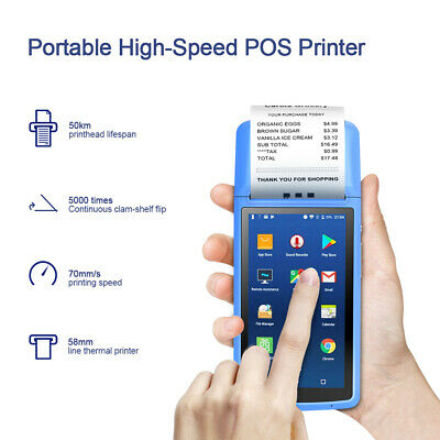 MHT-M1 Terminale POS Android 6.0 Supporto 2.4G WiFi BT Camera Auto Focus B6A6