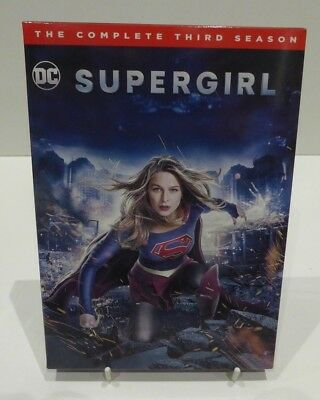 Supergirl Season.3 - Dvd Cardboard Slipcover Only