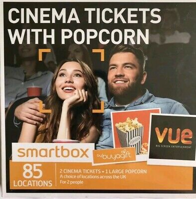 2 Cinema Tickets With 1 Large Popcorn Vue Cinemas, Valid Til April 2021