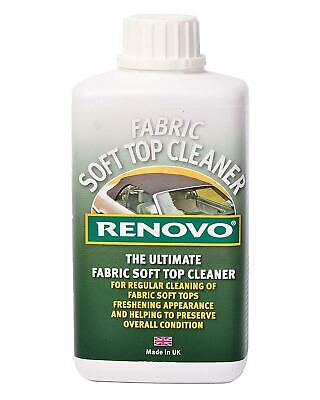 Renovo Ultimate Fabric Soft Top Canvas Cleaner Convertible Cabriolet Hood 500ml