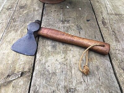 Vintage Old Antique French Small Axe Very Rare Collectible