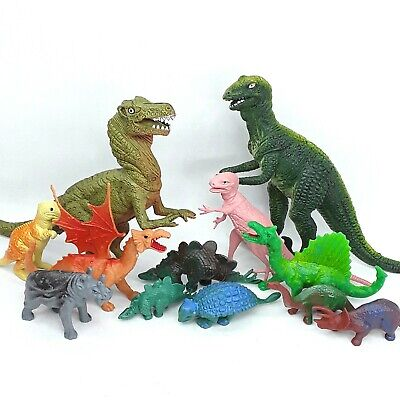 Dinosaur Dragon figure toy figurine Chinasaur Monster Vintage Bulk