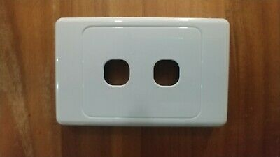 2/4/6 Gang Network Cover Plates Data Port Jack Mech - Empty