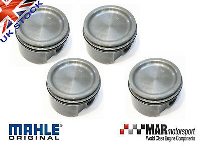 GENUINE Ford Focus Mk1 RS Zetec Turbo STD Standard Forged Pistons made by MAHLE