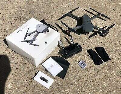 DJI Mavic Pro 4k Drone Quadcopter 99p Start No Reserve
