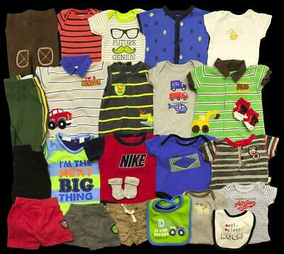 Baby Boy Newborn 0-3 month Nike Jordan Carter's Outfits Sets Clothes Lot