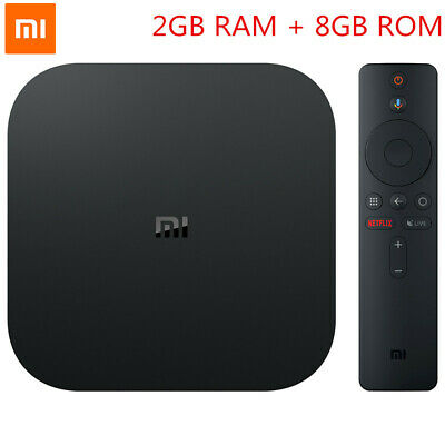 Xiaomi Mi Box S TV Box 4K Ultra HD Android 8.1 2GB 8GB WIFI BT Media Player HDMI