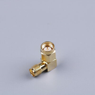 Sma connector 90 degree sma male to rp sma female adapter screw the needle~PL