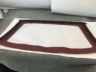 Peugeot 205 Cabriolet Window Rear Screen Hood Maroon