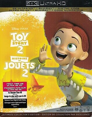 Toy Story 2 (4K Ultra Hd/Bluray)(2 Disc Set)(Used)