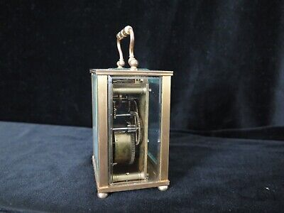 Antique French D. Barrios Carriage Clock