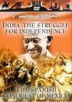 India - The Struggle For Independence / The Spanish Conquest Of Mexico (DVD, 200