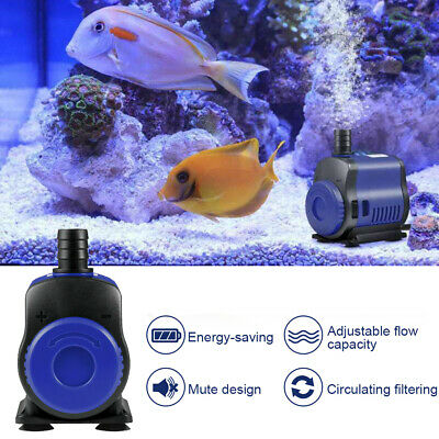 Submersible Water Pump for Pond Aquarium Fish Tank Fountain Waterfall Feature UK