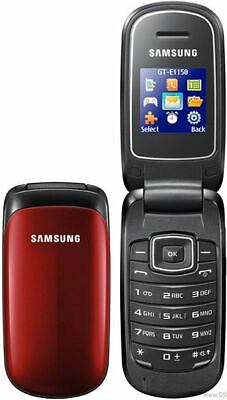 UNLOCKED SAMSUNG GT-E1150i FLIP CELL PHONE GSM CELLULAR ROGERS FIDO CHATR AT&T++