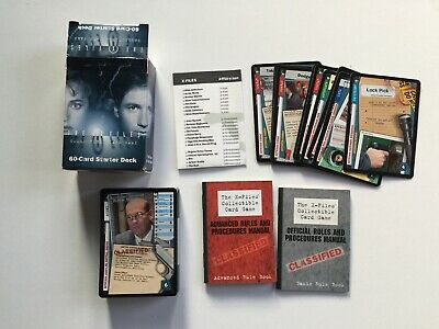 The X FILES card game (starter deck in inglese)