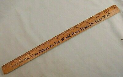 COCA-COLA RULERS  DO UNTO OTHERS AS YOU WOULD HAVE THEM DO UNTO YOU  3 PIECES