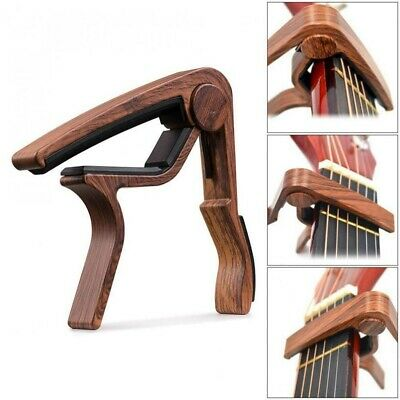 Quick Easy Design Change Trigger Capo Key Clamp for Acoustic Electric Guitar