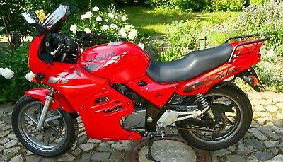 HONDA CB 500 Sport PC 26 mit Five Stars Vollverkleidung, fighting red