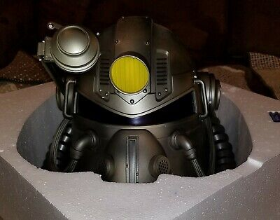 Fallout 76 Power Armor Collector's Edition T-51 Helmet, Poster and Carrying Bag