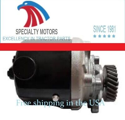 E7NN3K514DA POWER STEERING PUMP /NEW/ for Ford New Holland TRACTORS 455C 655D+