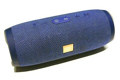JBL Charge 3 Portable Waterproof Wireless Bluetooth Speaker - Blue