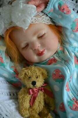 Sweet Reborn Baby GIRL Doll CHLOE was Rose by Donna RuBert COMPLETED baby