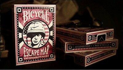 1 DECK Bicycle Escape Map  playing cards-S10312846-乙D2-2
