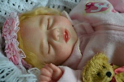 Cute Reborn Baby GIRL Doll SOPHIE was Robin by Michelle Fagan COMPLETED