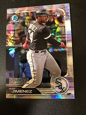 2019 Topps Bowman Chrome National Convention Eloy Jimenez Rookie Refractor