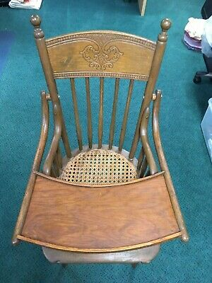 Vintage Wooden Baby High Chair~Jenny Lind  Style~Beautiful~Wooden