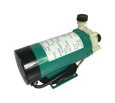 US Sstock 110V/50HZ Corrosion-resistant Magnetic Drive Pump 15R W/ Plastic Head