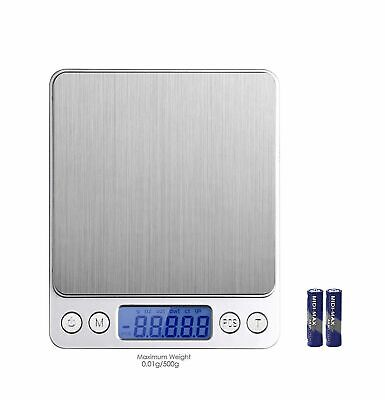 0.01g-500g LCD Electronic Pocket Digital Scales Jewellery Gold Weighing Machine
