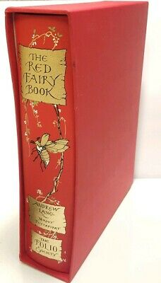 The Red Fairy Book - Andrew Lang - The Folio Society - Very Good - with Slipcase