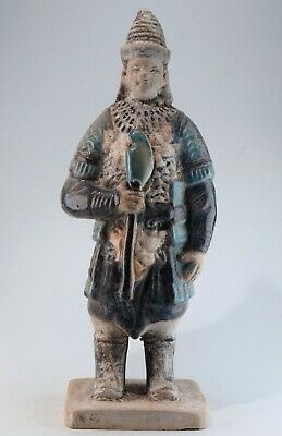 Ceramics statue ,Chinese Exquisite Sancai Porcelain ceramic statue height 22.5cm