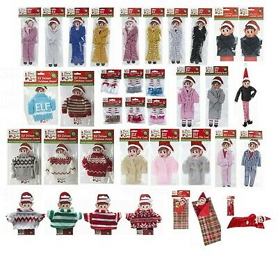 Elf Fashion Accessories Props Put On The Shelf Ideas Kit Christmas Clothes Style