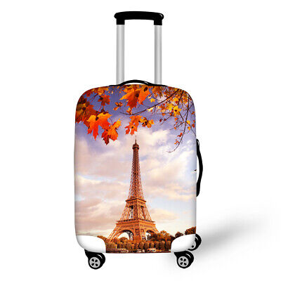 Eiffel Tower Suitcase Bag Travel Luggage Cover Protective Protector 22 26 28 30