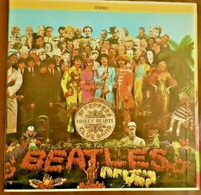 """The Beatles """"Sgt. Pepper's Lonely Hearts Club Band""""   SMAS-2653  VINYL"""