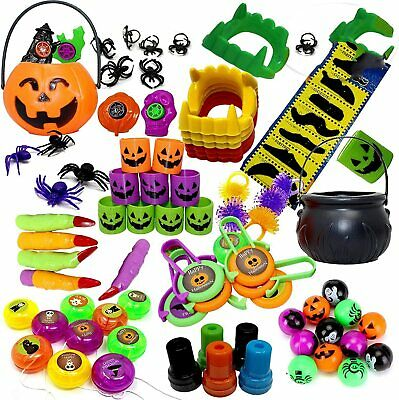 110 Pack Halloween Party Toys Party Bag Fillers Trick Or Treat Favour Pinata
