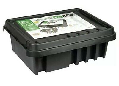 Large DriBox Dri Box 33.23.14cm Outdoor Waterproof Plug Socket Cover Box Black