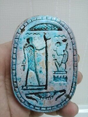 Royal Scarab is very rare ancient Egyptian civilization .. 6