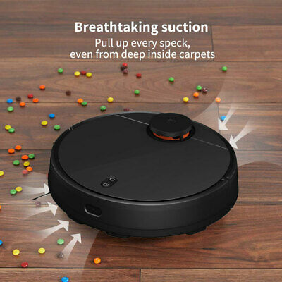 Xiaomi Mi 2 in 1 Sweeping Mopping Robot Vacuum Cleaner 2nd Generation - Black