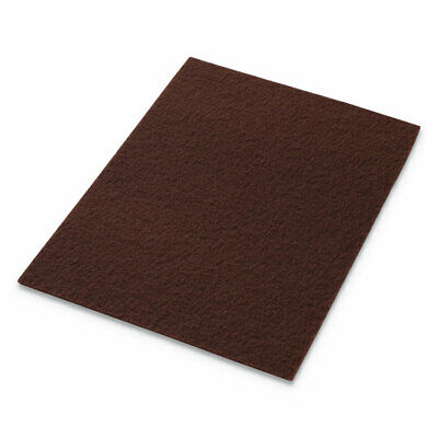 Americo® EcoPrep EPP Specialty Pads, 28w x 14h, Maroon, 10/CT 42071428
