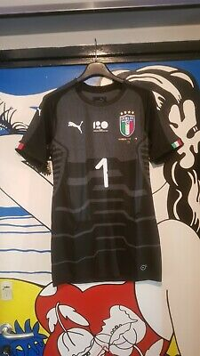 Maglia Inghilterra Italia Buffon Xl P S G Juventus Match Worn Ciao David Patch