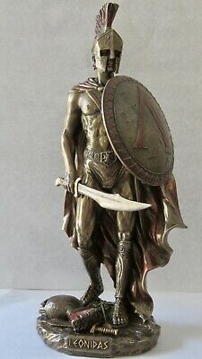 Leonidas the King of Sparta (Decorative Statue / Sculpture 25cm /  9.84 inches
